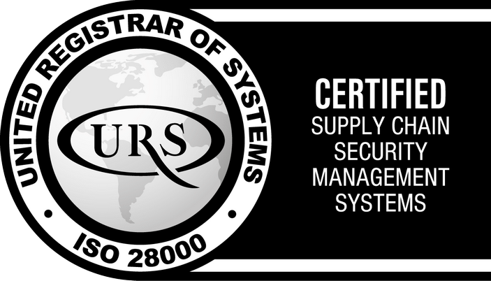 ISO 28000:2007 Certificate