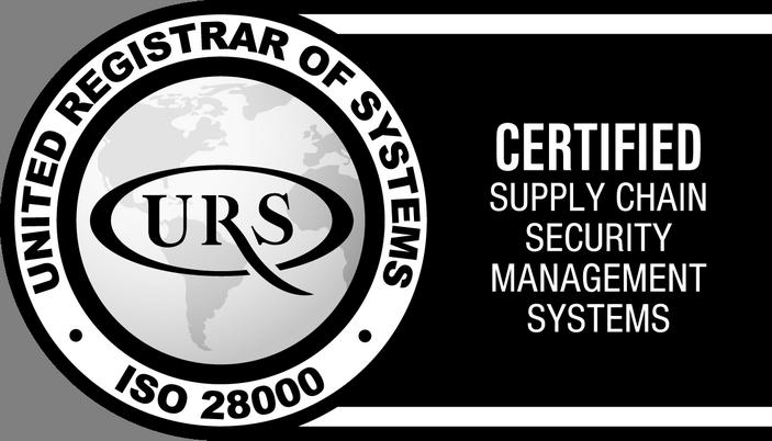 Certyfikat ISO 28000:2007